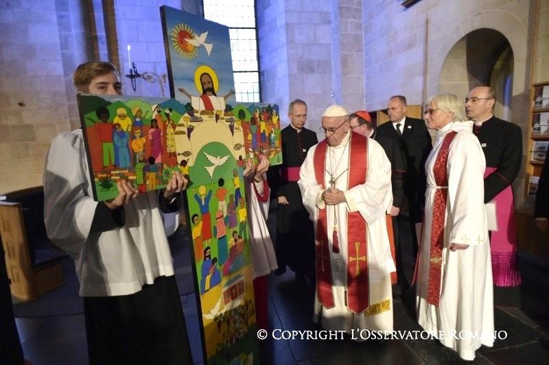 Resultado de imagem para oração ecumenica catedral lund