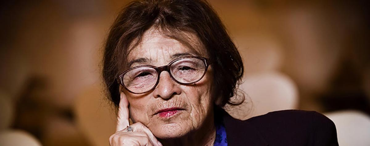Resultado de imagem para Agnes Heller. Um símbolo de oposição ao sistema antidemocrático de Viktor Orbán