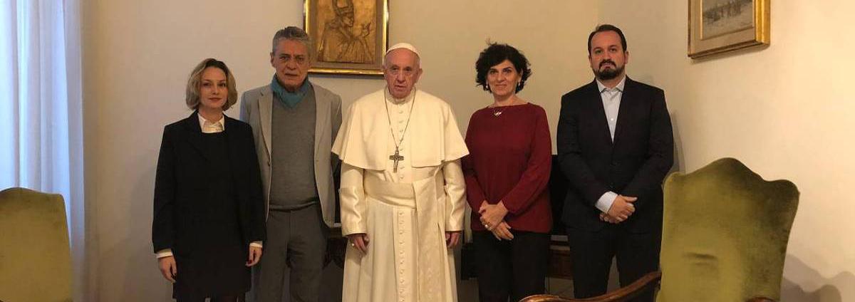 """Resultado de imagem para Líderes sociais latino-americanos denunciam ao Papa a """"crescente judicialização seletiva da política"""" na região"""