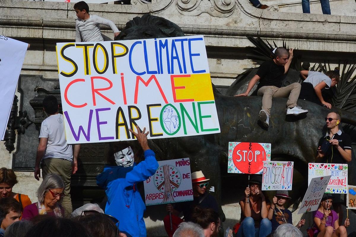 Resultado de imagem para A emergência climática é a questão política central da nossa época