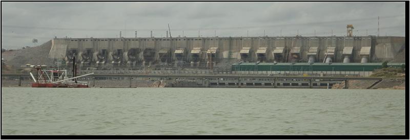 Vista de Usina de Belo Monte (Foto: Andre Oliveira Sawakuchi)